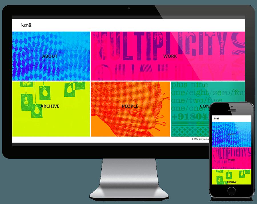 portfolio mobile friendly website