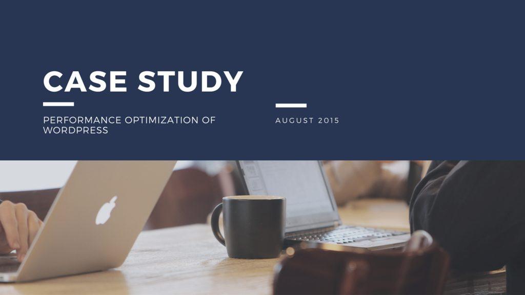 case study on performance optimization
