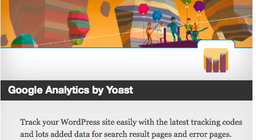 Corporate Blog Design - Google Analytics by Yoast