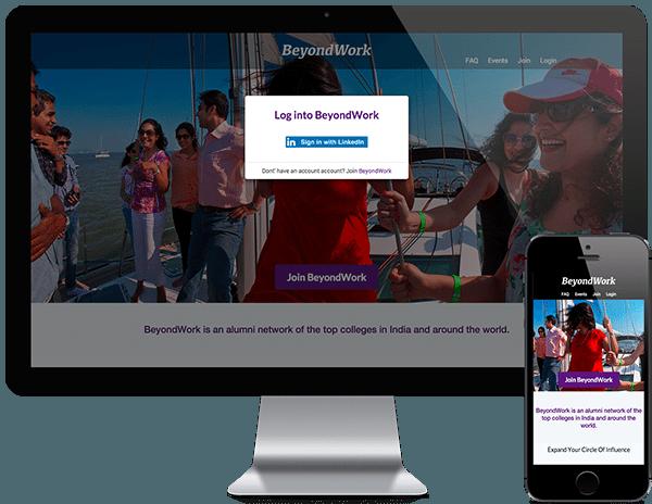 BeyondWork - alumni network buddypress woocommerce custom wordpress development
