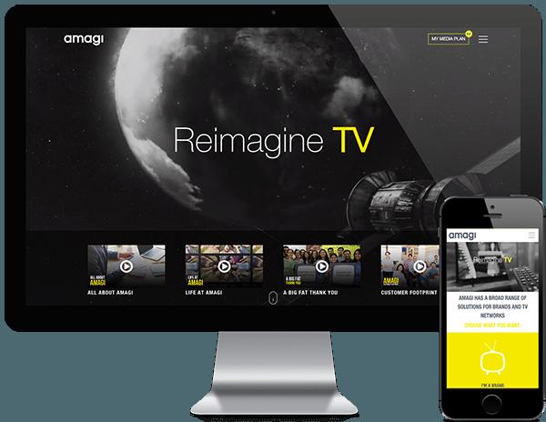 amagi custom wordpress website development by pixelmattic
