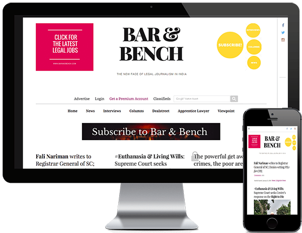 barandbench online legal journalism website development company pixelmattic