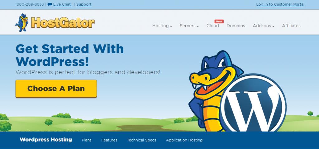 Hostgator - Shared hosting