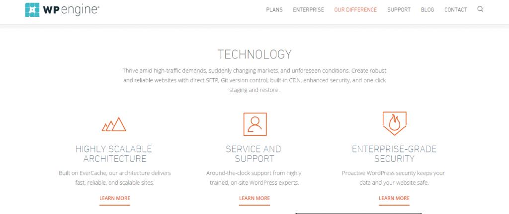 wpengine - Managed hosting plugin