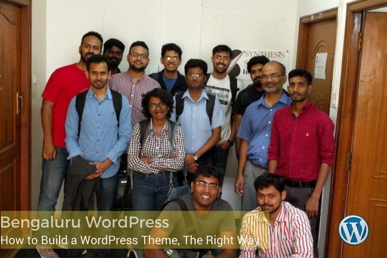 Bengaluru WordPress Meetup
