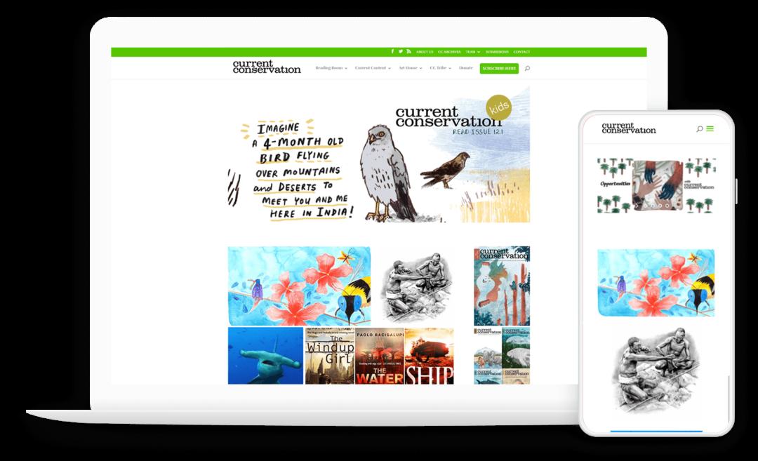 Online Magazine for Conservation