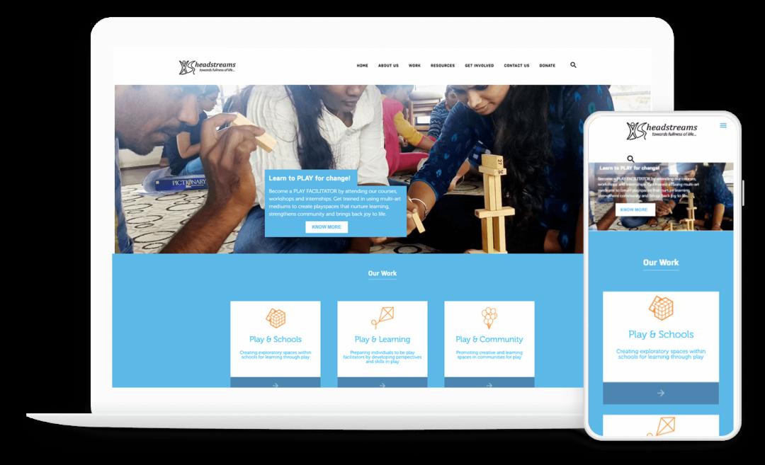 Custom Design & Theme Development for a Non-Profit