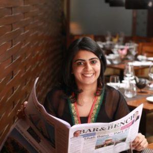 Photo of Pallavi Saluja, editor ar Bar and Bench, a client of Pixelmattic