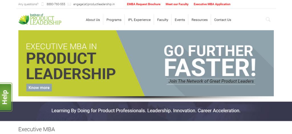 institute of product leadership website