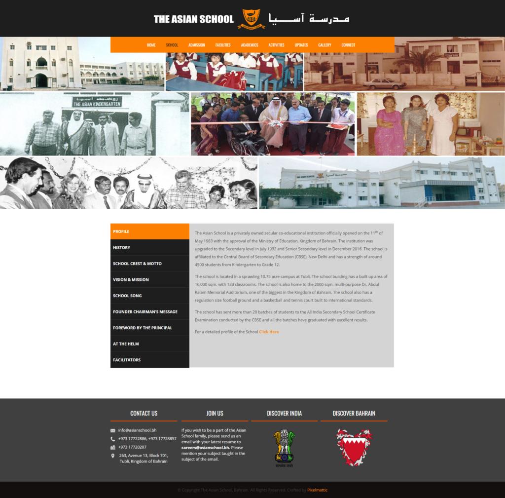 School Profile « The Asian School Bahrain